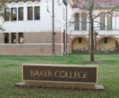 Rice University Baker College Dorm