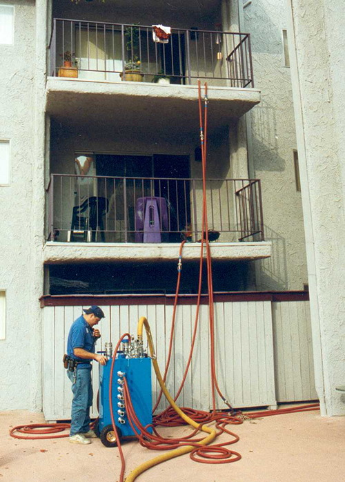 condominium multifamily pipe repair
